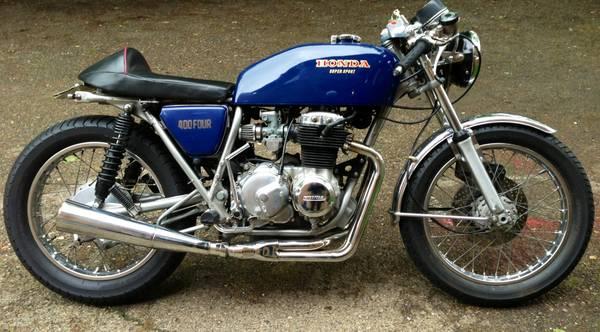 1975 Honda CB400F Cafe Racer – Vintage Kraft
