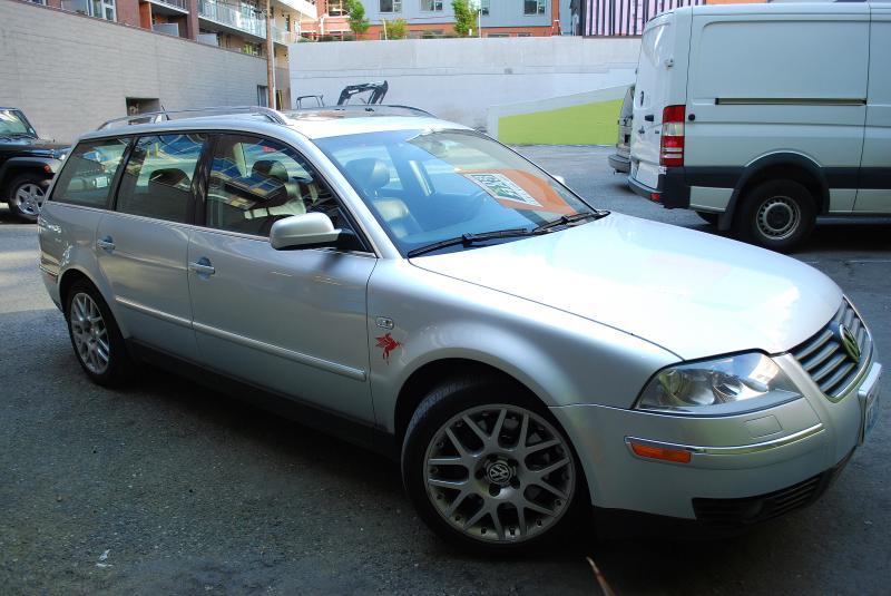 2004 Volkswagen Passat W8 Wagon Manual Vintage Kraft