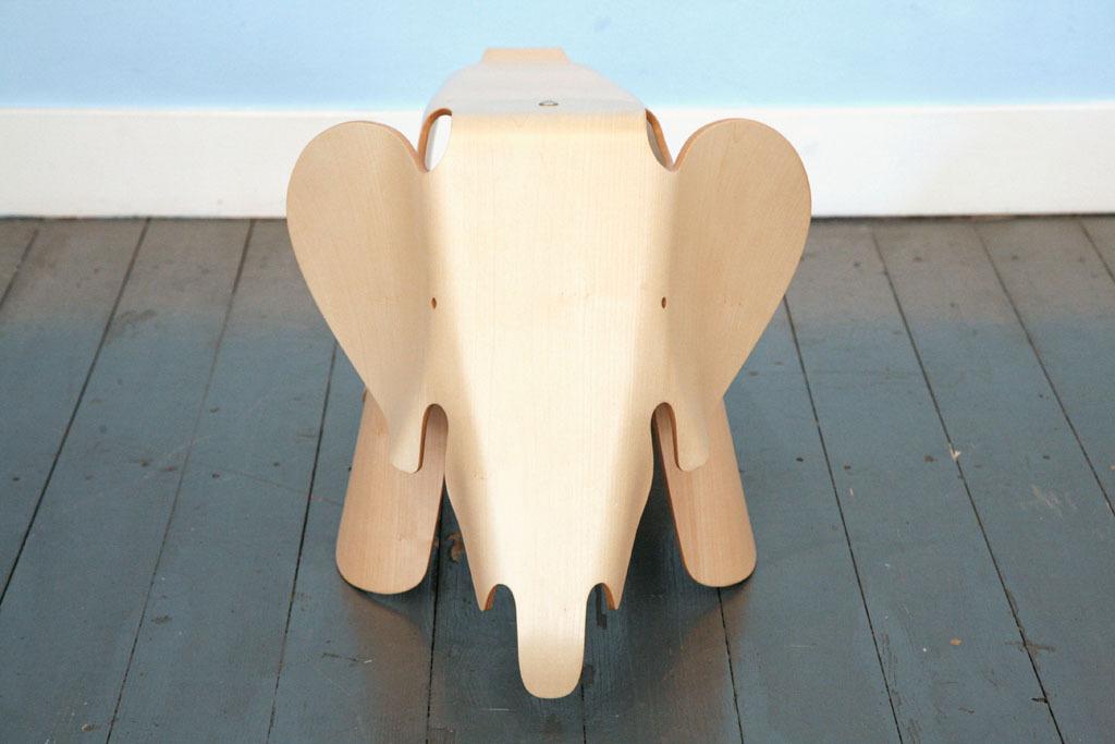 limited edition eames plywood elephant vintage kraft. Black Bedroom Furniture Sets. Home Design Ideas
