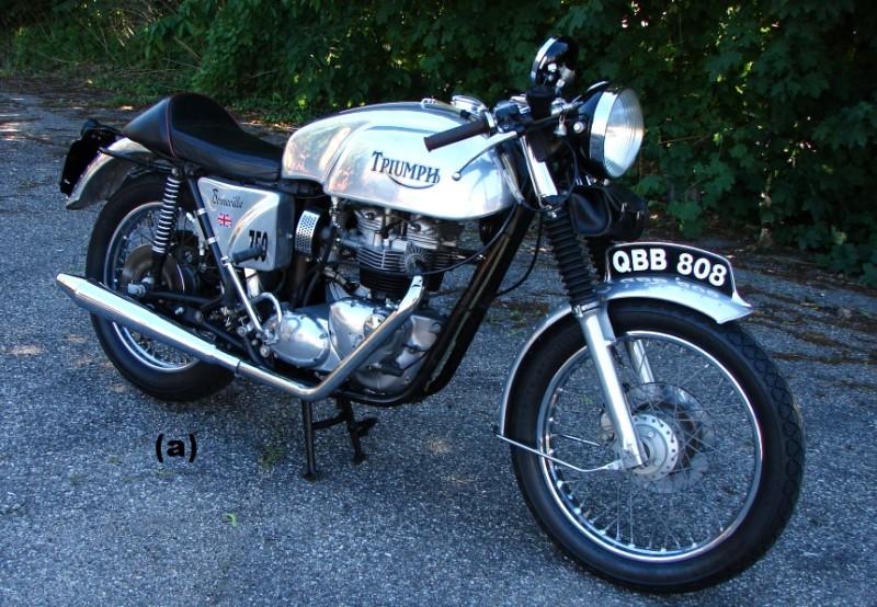 1977 Triumph Bonneville T140 Vintage Kraft