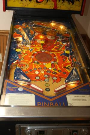 values vintage bally pinball
