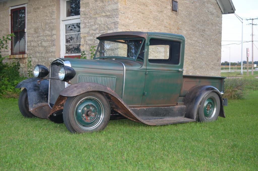 1931 ford model a truck vintage kraft. Black Bedroom Furniture Sets. Home Design Ideas