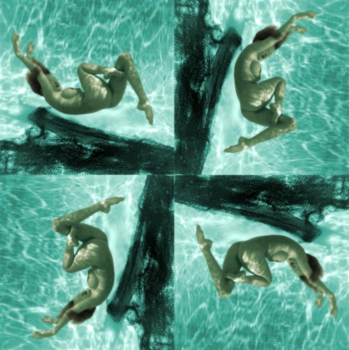 marylin monroe underwater 1950s